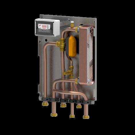 BF3S-Modul (KEINE Umwälzpumpe) für Heizung nur mit Biomasseerzeuger und sofortige Warmwasserbereitung