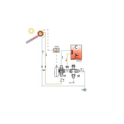 Bausatz Solar - Kessel